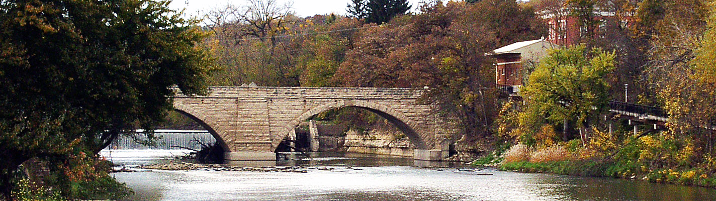 Keystone Bridge in Elkader