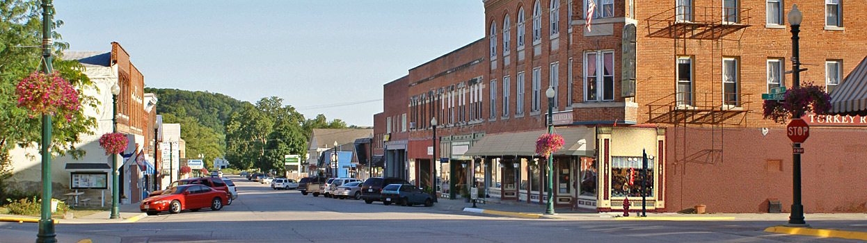 Downtown Elkader