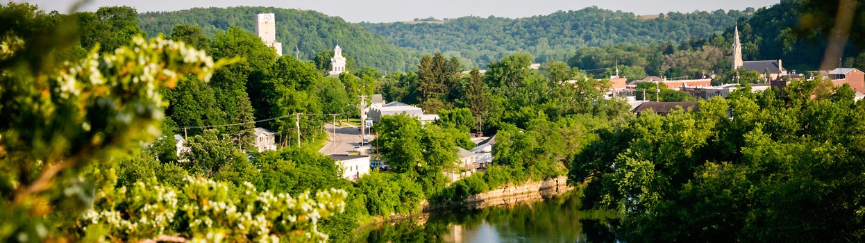 Overview of Elkader